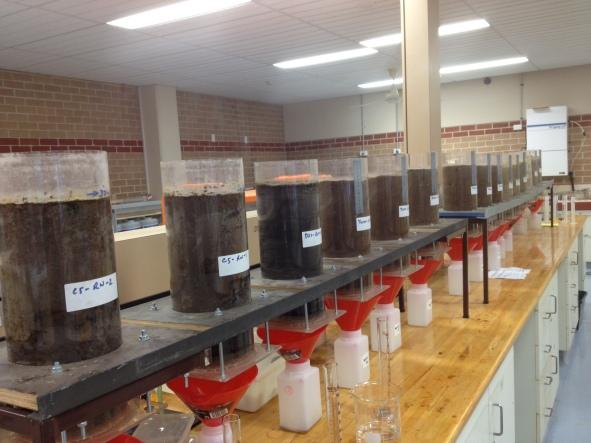 Soil Moisture Soil Column